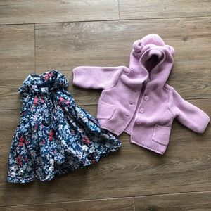 Baby Gap Dress and Sweater Set